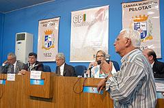 Henrique da Fonseca fez um breve relato sobre o setor