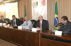 Reunião foi realizada no plenarinho da Assembléia