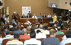 Audiência em Caxias do Sul reuniu empresários da região