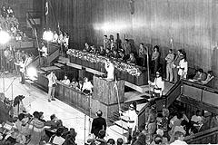 Sessão solene de instalação da Assembleia Constituinte