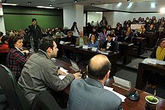 Discussão foi coordenada pelo deputado Mano Changes