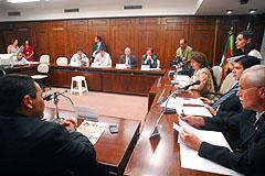 Comissão reúne-se na noite desta segunda-feira