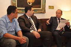 Villaverde garantiu que levará a pauta para a reunião de líderes desta terça