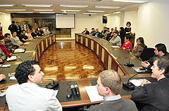 Na ocasião foi lançado o manual Grêmios Estudantis