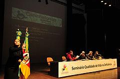 Seminário discutiu alternativas para a qualidade de vida das pessoas com deficiência