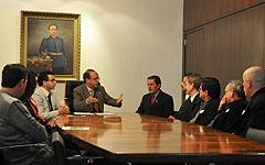 Documento foi assinado no Gabinete da Presidência da AL