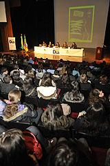 Estudantes ouviram palestra sobre importância dos grêmios estudantis