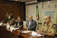 Major Franquilin Pereira apresentou objetivos da Assessoria aos parlamentares