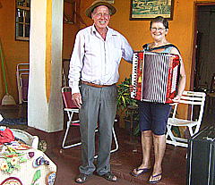 José Antonio Hadwig ficou muitos dias de prontidão